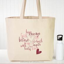 Love Life Personalized Rhinestone Canvas Tote Wedding Gift bag