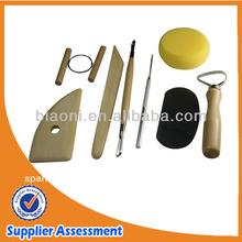 8 piezas de cerámica conjunto de herramientas conjunto de escultura de arcilla conjunto de herramientas