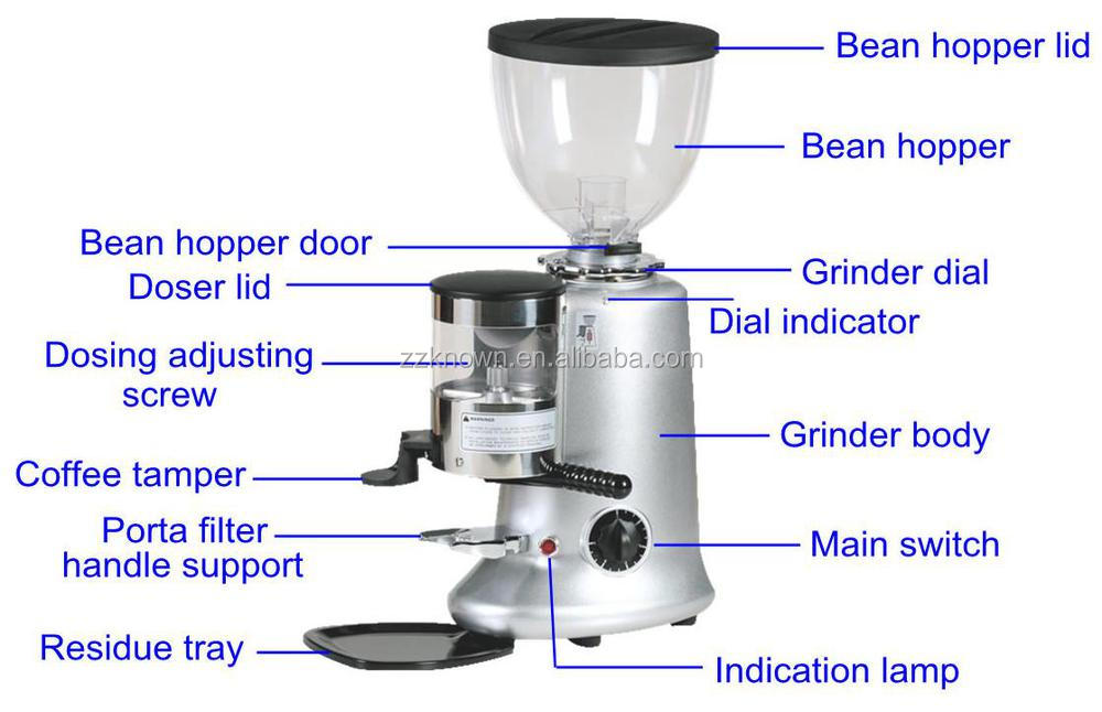 Coffee Maker With Bean Hopper : 1.2kg Bean Hopper Capacity Coffee Grinder/coffee Grinding Machine - Buy Coffee Grinder,Coffee ...