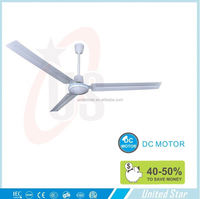 56 inch dc ceiling fan with solar battery
