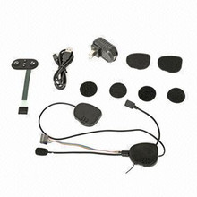 bluetooth intercom headphone waterproof housing for motorcycle helmet BT3.0 price material benefit