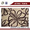 Polyester cotton flocked velvet fabric for making bed sheets/sofa