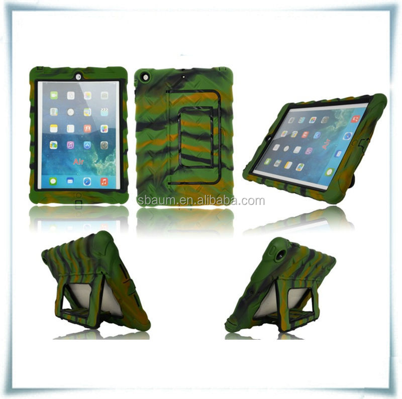 NEW style 4 in 1 silicone for ipad air case