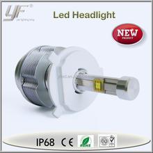 2 pcs ETI Dual LED 40W 3600LM H/L Headlight Kit Fog Light Lamp DRL 6000K