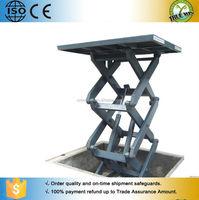 Car park garage elevator table/Car lifting ramp