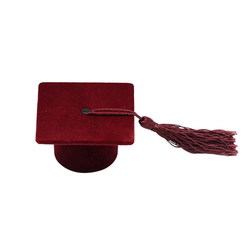 Специальный Рождественский подарок блеск hat Jewelry Кольцо Box