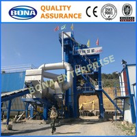 construction stable bitumen automatic 120t/h asphalt mixing plant