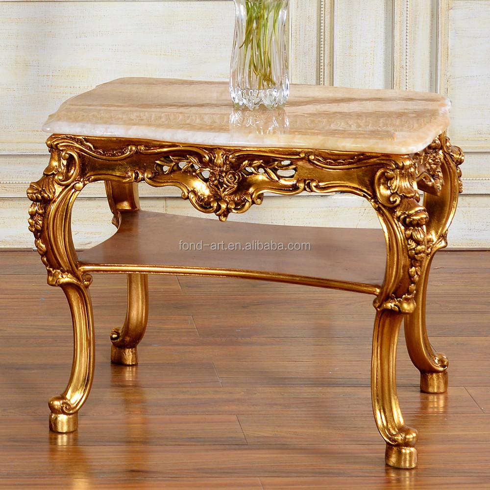 C60 Antique Style Fran Ais Double Couche Marbre Table Basse Table Basse Id De Produit 285852079