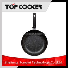 Aluminum Marble Coatin Lava Cooking Stone Fry Pan