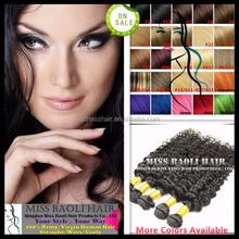 Alibaba Trade Assurance Paypal Accepted Natural Black Dyeable Grade 6A Virgin Brazilian Hair Clover Leaf Hair