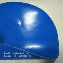 0.5mm Shiny Blue Nitril Coated Nylon Apron Fabric