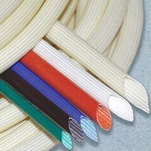 Silicone Fiberglass Sleeving (Insulation, Self- extinguishing, Anti-high temperature)