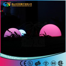 2015 Baizhao LED colors changing Led Glow floating Pool Ball Pool Ball