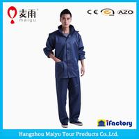 Maiyu foldable heavy duty polyester raincoat