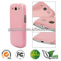 Glitter PC cellphone case for Samsung Galaxy S3 I9300