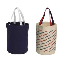 Factory price hot selling round canvas bag