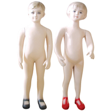 Hot Sale Realistic Kids Mannequin for supermarket,lovely kids model on sale factory delivery