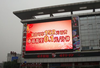 P10mm outdoor full color led display LED curtain taxi advertising signs