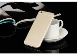 0.3mm ultra slim TPU clear case for iphone6 , silicon soft cover for Sumsang S6 edge