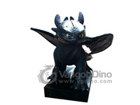 VGD-827 outdoor life-size dragon statues toothless how to train your dragon