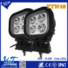 Sample available Y&T 12v 24v car accessories 4inch 10W led work light IP68 1260 LM automotive led flood beam light for commercia
