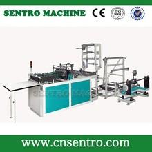 Computer Control hot cutting&side sealing bag making machine (with foldinng)