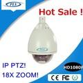Barato IP66 a prueba de agua DC12V exterior 1080 P onvif ip ptz de la fcc, Ce, Rohs certificación