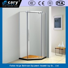 EC-2316 2015 china guangdon manufacturer whirlpool steam massage tempered glass bathroom shower enclosure /shower cabin /s