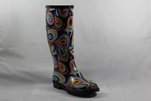 nacional de botas de goma con imágenes coloridas