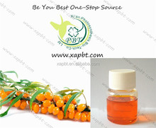 nutritional and natural seabuckthorn flavone 5% seabuckthorn oil