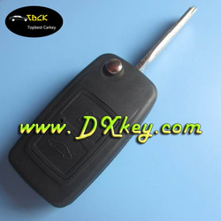 High quality 3 buttons folding key (433 mhz) ID40 chip for chery tiggo remote key car remote key chery