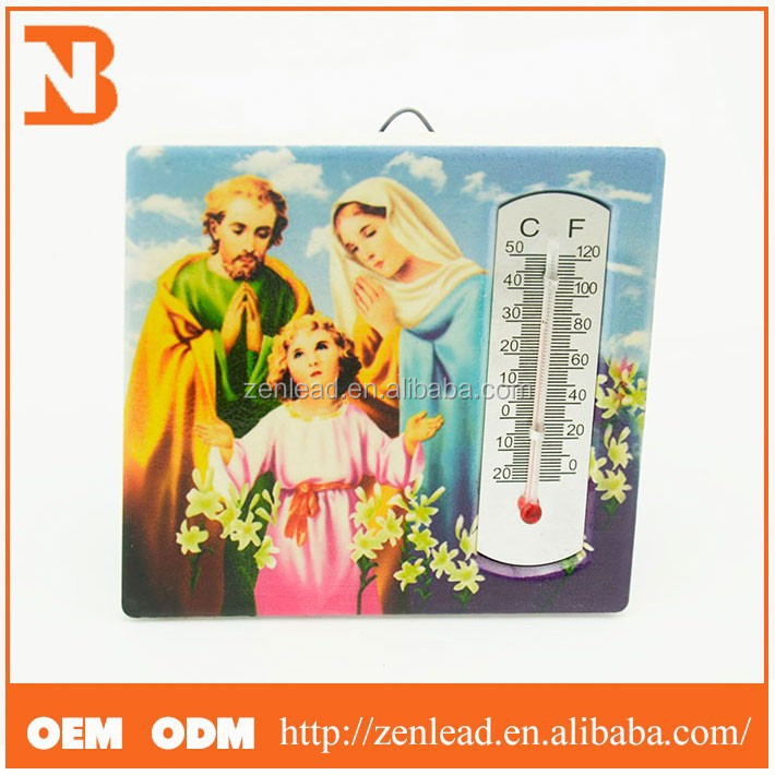 New Products Thermometer Style Holy Family Christian Home
