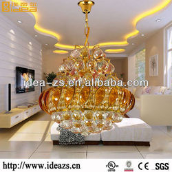 chandelier white metal de cristal pendant lights modern