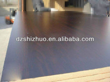 dark melamine board/mdf board price from mdf manufacturer