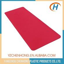Red Fashion Sports Women Keep Fit TPE Foam Round Yoga Mat