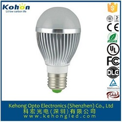 Energy saving 7W E27 led bulb lamp for official lighting easy plug connector are supplied if requested