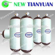 90 mpa presión de prueba hidrostática de tipo ii de fibra de carbono del cilindro de gnc venta caliente