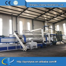 China supplier high quality Continuous automatic waste tyre pyrolysis plant