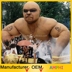 2015 customized popular giant inflatable muscle man from China inflatable manufactory
