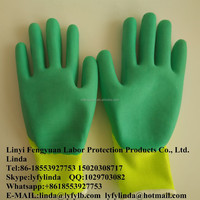latex foam coated gloves protection products