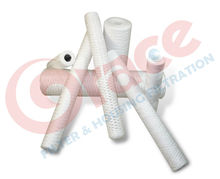 PP String Wound Water Filter Cartridge for Plating,Pre RO,Chemical,Petrochemical,Food