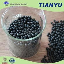High efficiency Organic fertilizer humic acid black granular color for fertilizer