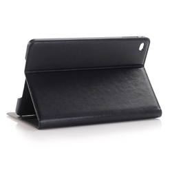 In Stock! Crazy Horse Texture Leather Wallet Case for iPad mini 4 with Sleep / Wake-up Function