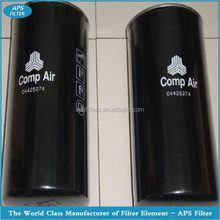 High quality of Compair air screw compressor 070-112 oil filter 04425274