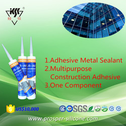 Adhesive Metal Sealant One Component Multipurpose Construction Adhesive