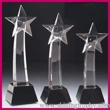 cylinder shape crystal glass awards trophies