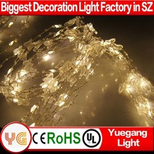 Hot sale wedding decoration christmas tree light butterfly covers reflectors Eco-Friendly christmas tree light UL certificated