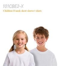 100 cotton short sleeve children organnic t shirts plain color blank unisex kids t shirts