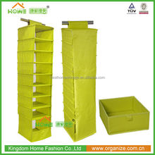Foldable Fabric Hanging Organizer With Different Sizes Spaces