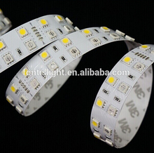 5050 24v Non-waterproof RGB double line LED flex strip